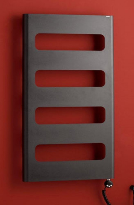 Koupelnový  radiátor Retro - antracit - RTA