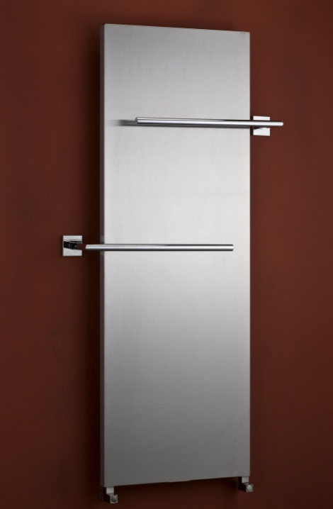Koupelnový  radiátor Pegasus - kartáčovaná  nerez - PG7SS