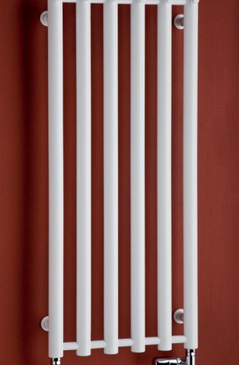 Koupelnový  radiátor  Rosendal  - bílá- R1W/6