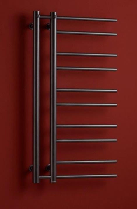 Koupelnové radiátor  Theia  -  antracit -T1A ( pravé  provedení)
