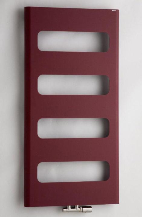 Kúpeľňový radiátor Retro  -bordó - RTRE