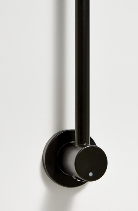 Elektrický sušiak Kares - čierna mat