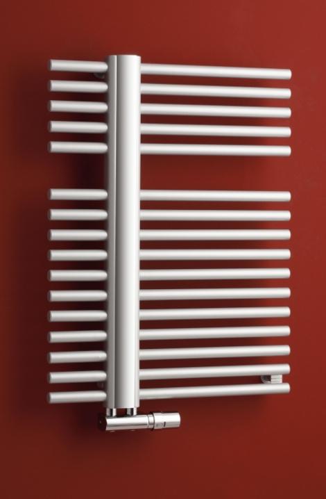 Kúpeľňový radiátor Kronos - metalická strieborna - KR1MS