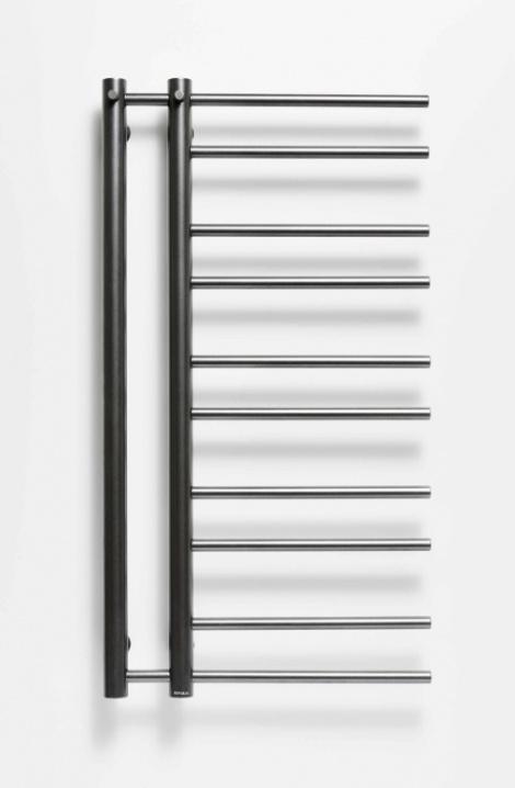 Kúpeľňový radiátor Theia - antracit - T1A
