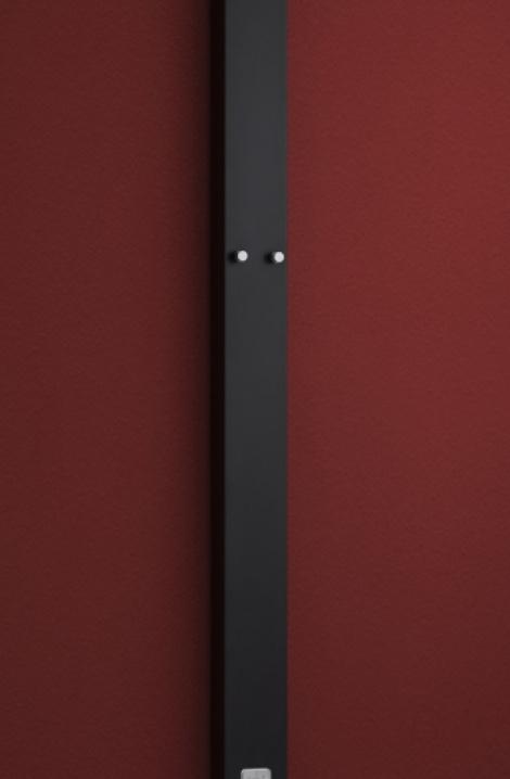 Elektrický panel - struk. čierna