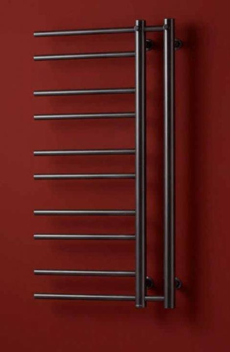 Kúpeľňový radiátor Theia  - antracit -T1A-L  ( ľavé vyhotovenie)