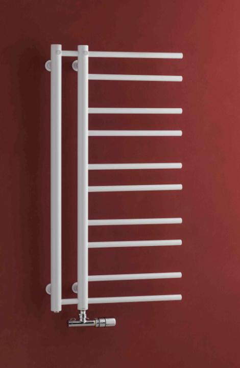 Kúpeľňový radiátor Theia - biela - T1W